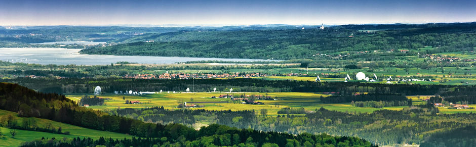 Lake Ammer, Bavaria: Panorama Shot